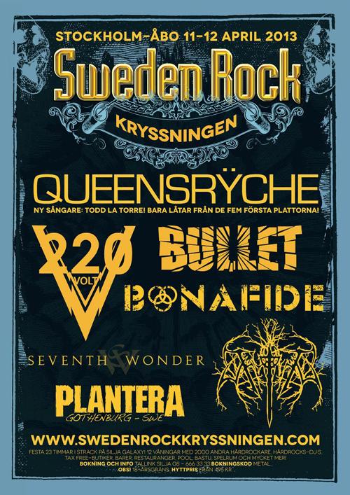 Sweden Rock-kryssningen