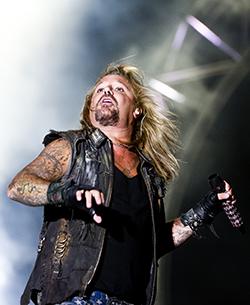 Mötley Crüe 2012. Foto: ROBIN LORENTZ ALLARD