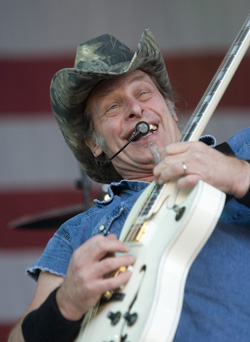 Ted Nugent 2002. Foto: RICKARD NILSSON