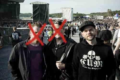 Förra året jobbade jag med Jocke Persson och Magnus Sandberg. I år är det bara jag som tar mig an Metaltown. Allt enligt rimlighetsprincipen.