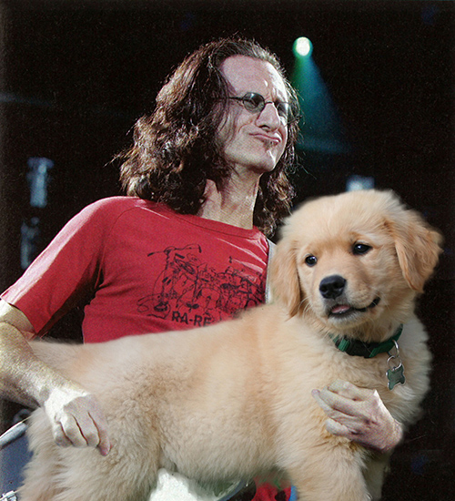 Geddy Lee, Rush.