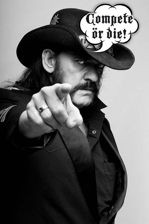Lemmy pekar, du lyder.
