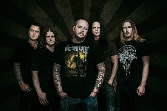 The Haunted årsmodell 2014 består av Adrian Erlandsson (trummor), Jonas Björler (bas), Marco Aro (sång), Patrik Jensen (gitarr) och Ola Englund (gitarr)
