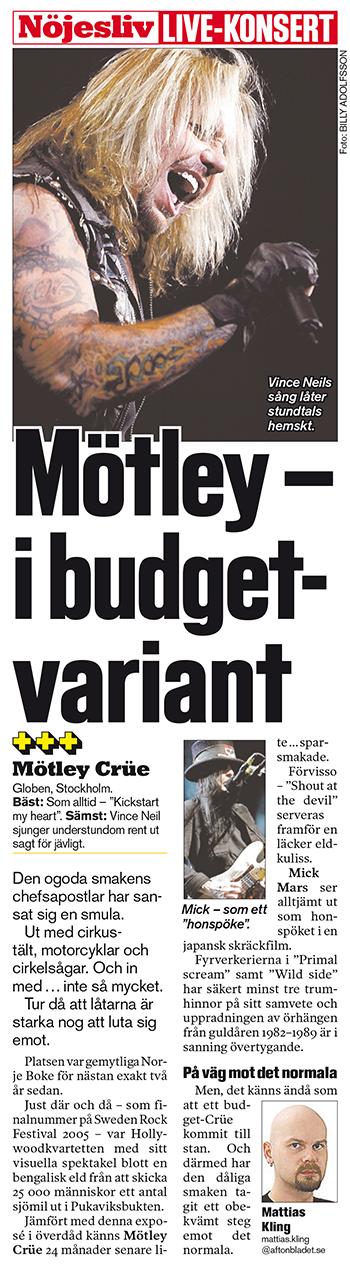 Aftonbladet den 6 juni 2007.