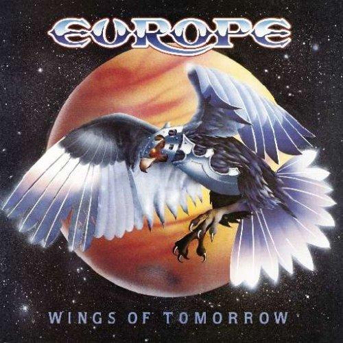 """Omslaget till """"Wings of tomorrow"""" – avsevärt mycket snyggare och mer påkostat än debutens futtiga bandfoto."""