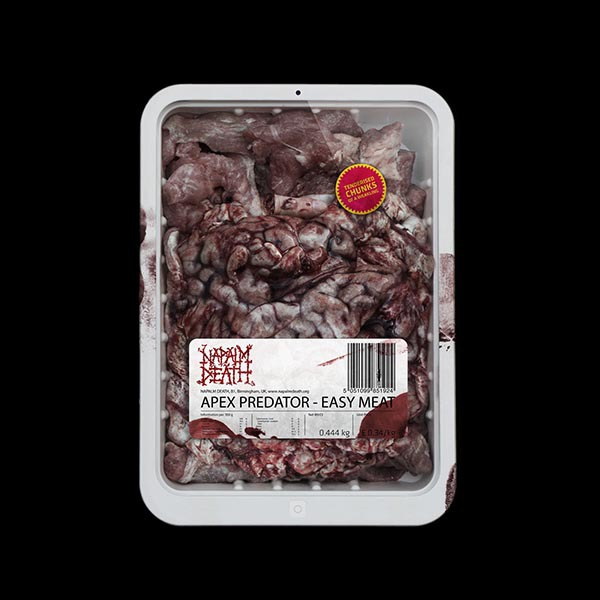 "Napalm Death ""Apex predator – easy meat"