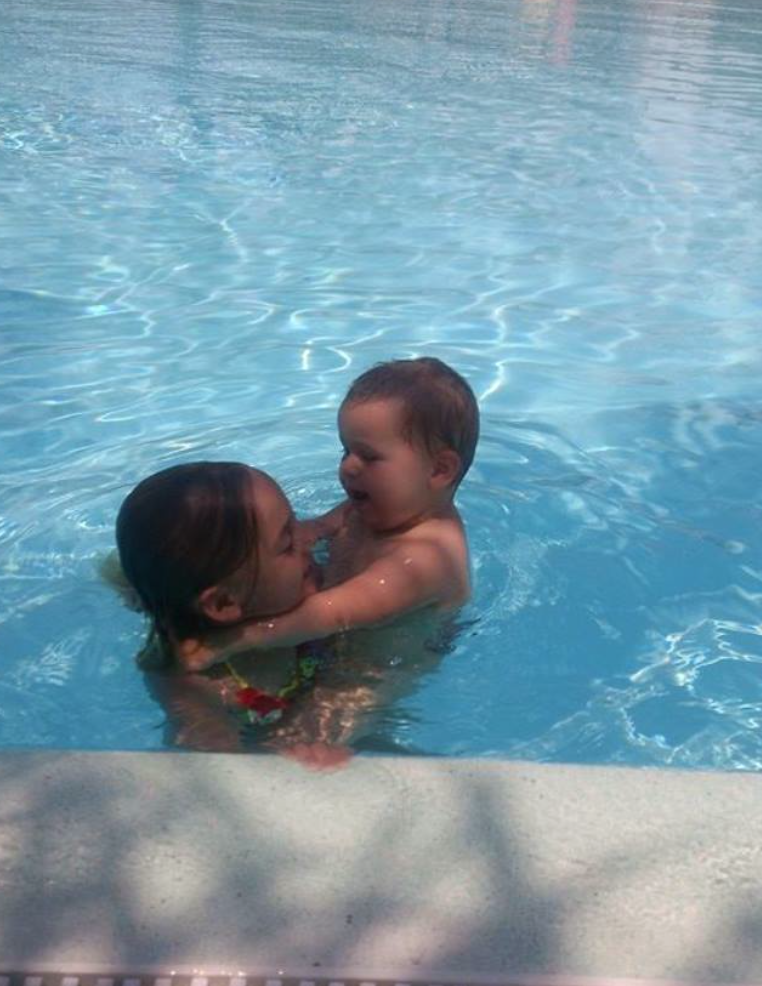 Vi älskar att bada!