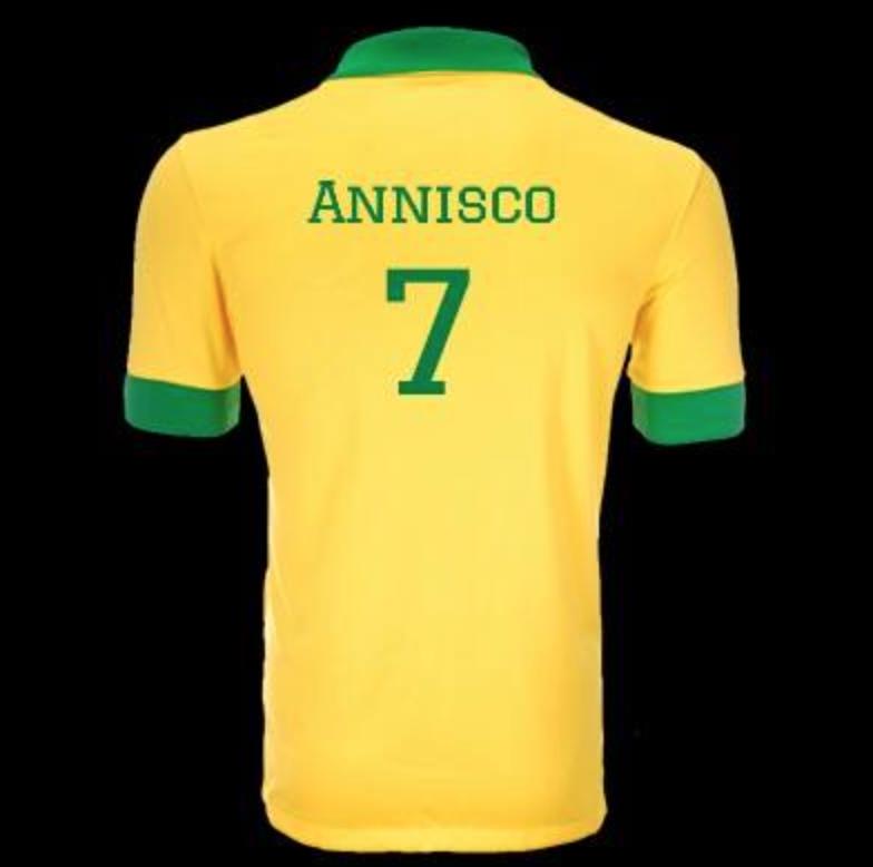 Fotbolls VM 2014 Anna Dabrowski Brasilien landslag