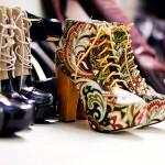 Moderummet är en himmel för den som älskar skor…