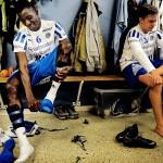 När Lansana Kamara började träna med City trodde han att många lagkamrater höll på med droger, vilket fick honom att kontakta en bekant i Stockholm. Då lärde han sig att många svenskar använder snus. Foto: MAGNUS LIAM KARLSSON