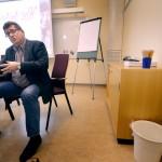 """Kommunstyrelsens ordförande Jan Bohman (S)  i Borlänge är nöjd efter mötet med ministern, trots att han inte fick några löften om mer resurser. """"Det var viktigt för oss att få beskriva för ministern den verklighet som vi lever i""""."""
