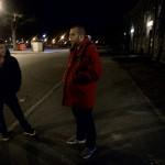 Albert Bujupi är en av fältarna som är ute på Landskronas gator nattetid.