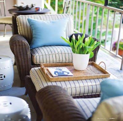 trädgård, garden, balkong, balcony