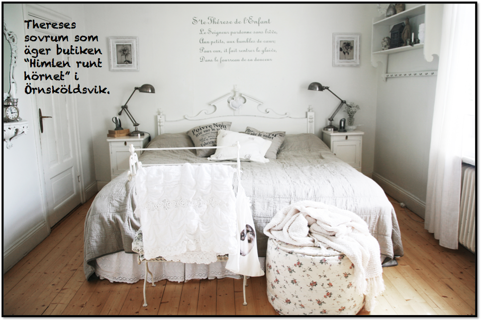 romantiskt sovrum inredning
