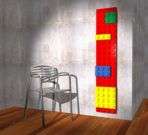 Marco Baxadonne designed the Lego radiator
