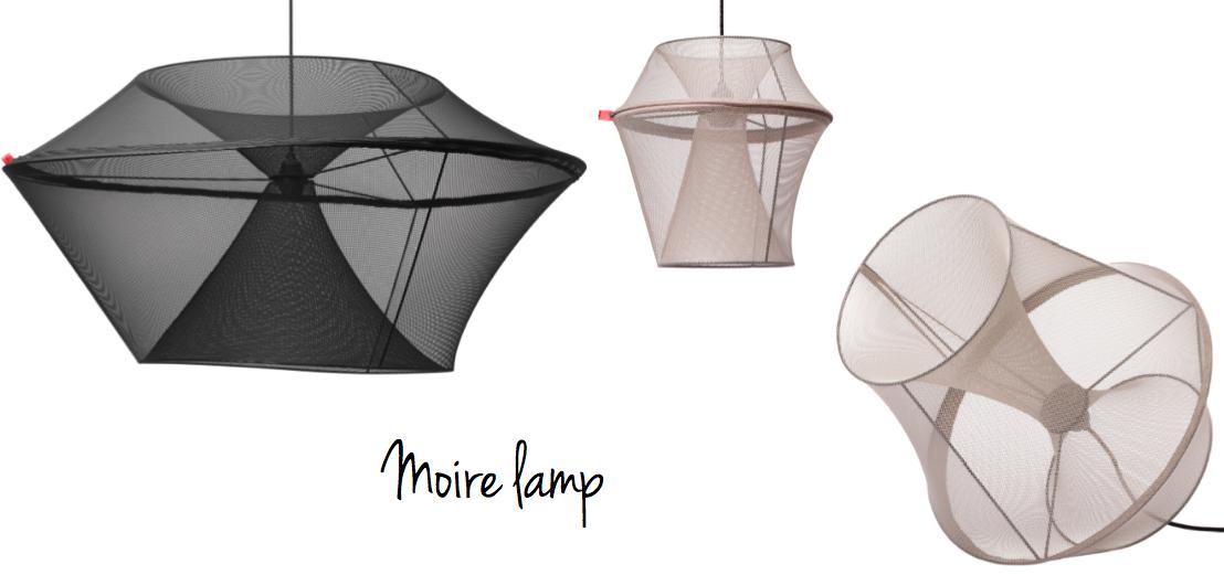 moire lamp, artilleriet, design