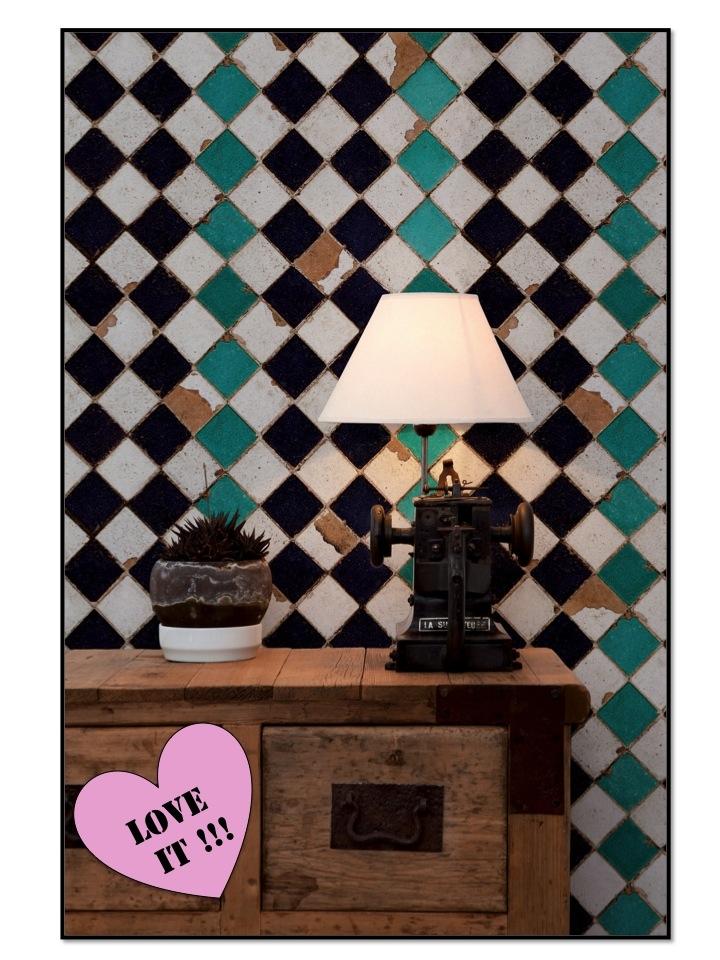 Intrade, tiles, tapeter, wallpaper