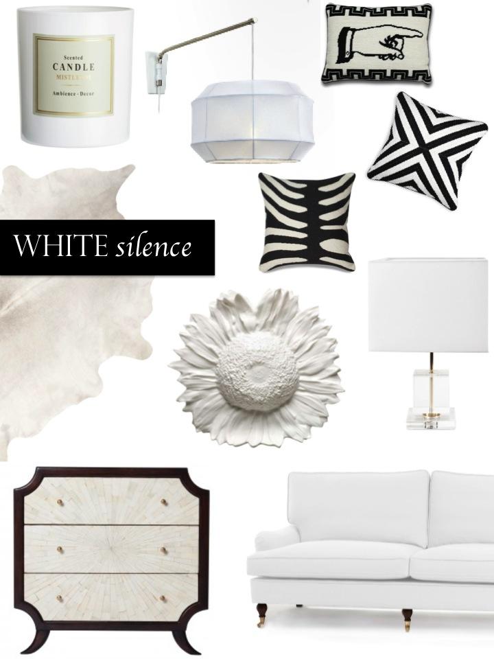 vitt, vit inredning, vit soffa