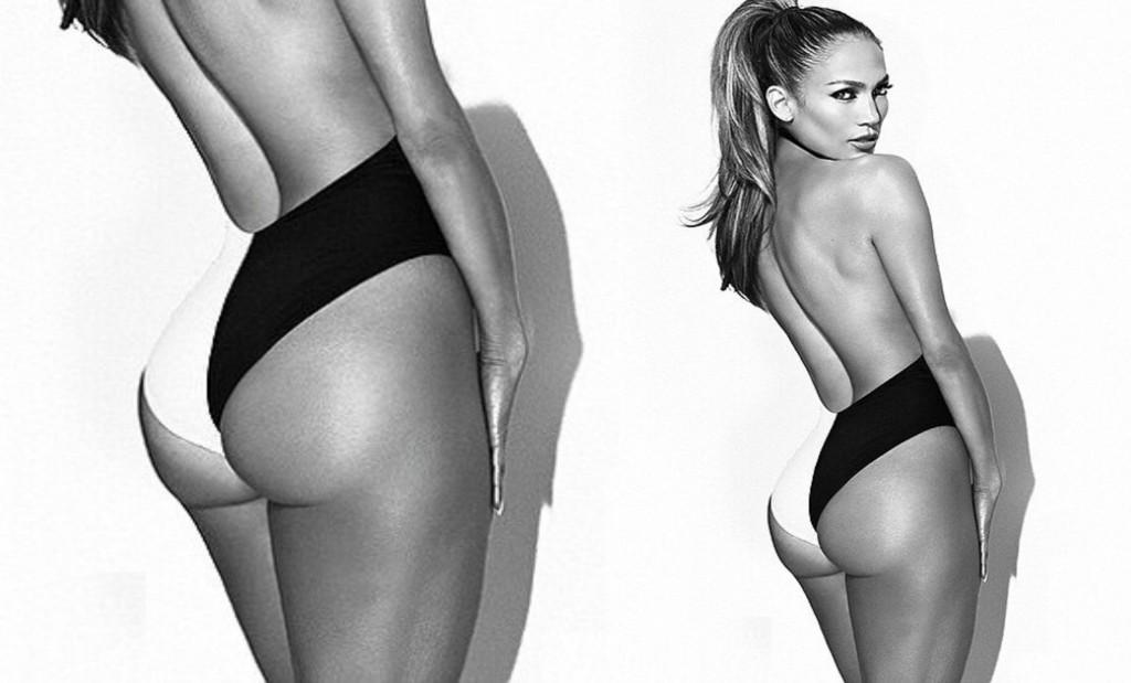 Jennifer Lopez hakade på bakdelståget