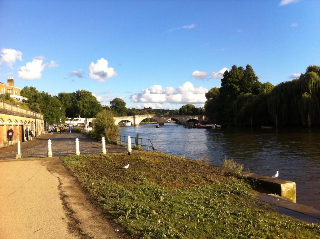 Richmond uppkallades efter Richmonds Palats som Henrik VII lät bygga 1501.