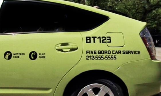 En skillnad med Boro-bilarna – förutom färgen – är att man både kan fånga dem på gatan och ringa efter dem och då få ett fast pris.