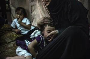 FN larmar i ny rapport om att många flyktingbarn från Syrien mår väldigt dåligt. Här är barn i ett flyktingläger i Jordanien. Foto: UNHCR.