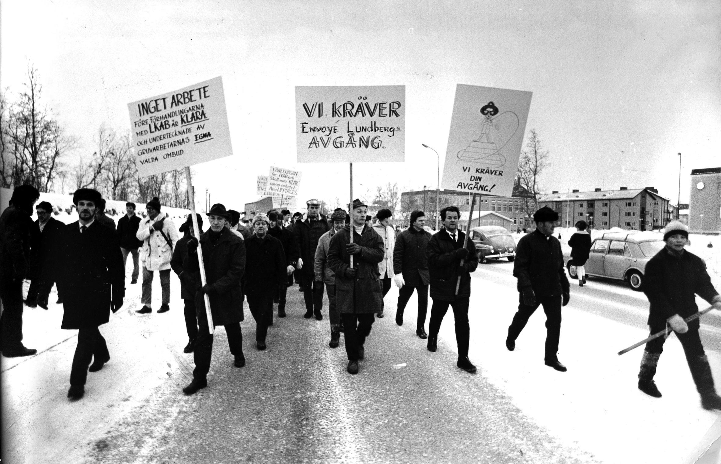 Tre av fyra lasare sager ja till strejk