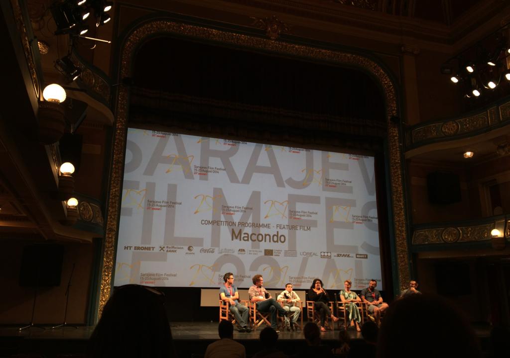 Macondo-gänget svarar på publikens frågor.