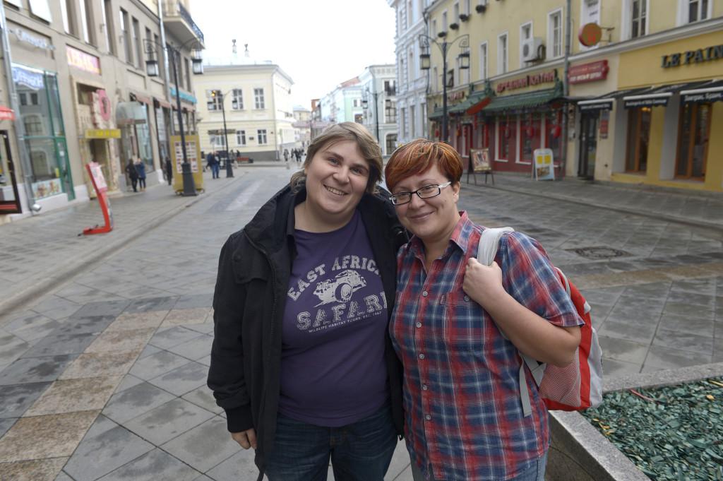 Kristina Malitovskaja och Tatiana Vinitjenko