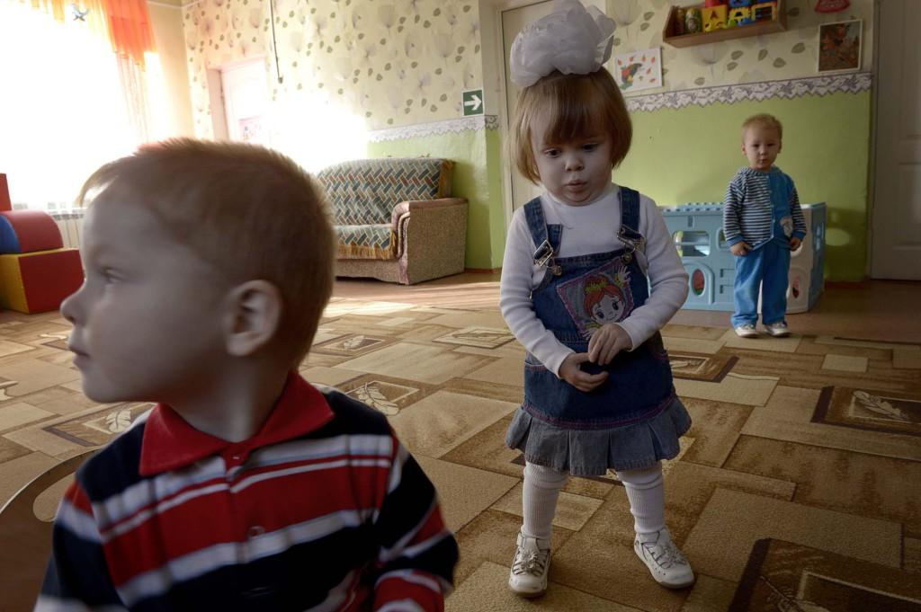 En resa i Putins rike; MitjurinskBarnhemmet i Mitjurinsk Foto Urban Andersson