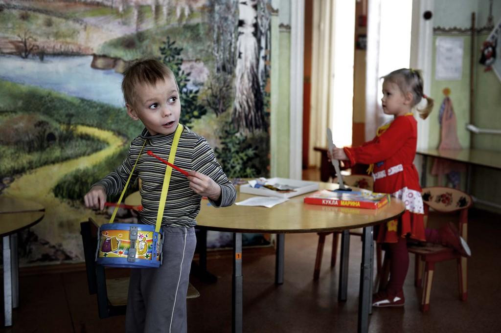 En resa i Putins rike; Mitjurinsk Barnhemmet i Mitjurinsk  Foto Urban Andersson