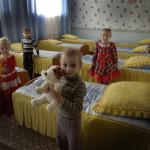Sovsalen för de mindre barnen
