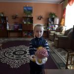 Pavel 5, vill bli kock när han är stor