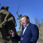 Nikolaj Parsjin vill inte se slaget som en historisk händelse, han vill se det som en förebådelse för kommunismen som ska återuppstå.