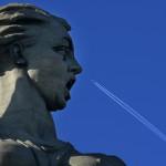 """Statyn """"Fosterlandet kallar"""" symboliserar slaget om Stalingard"""