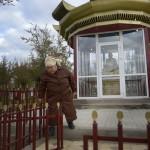 Alma Badajeva blec strålningskadad i Semipalatinsk där Sovjet gjorde sina kärnvapentester