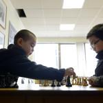 Denis Mandzjiev, 5 är redan en begåvad schackspelare