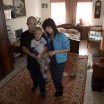 Familjen Sytjov bor i en liten stenvilla på 45 kvadratmeter