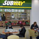 Det finns det snabbmat i gallerian som Subway