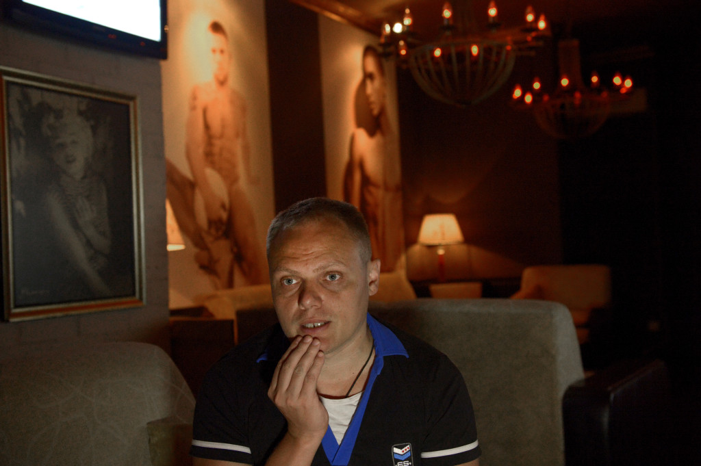 Klubben Mayaks ägare Andrej Tanitjev.