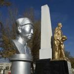 Den okände soldate grav ligger i samma park som Buddhastatyn