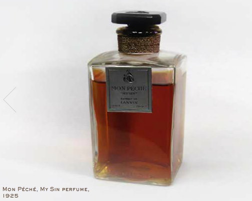 Mon Peche, Lanvins första parfym kom 1925