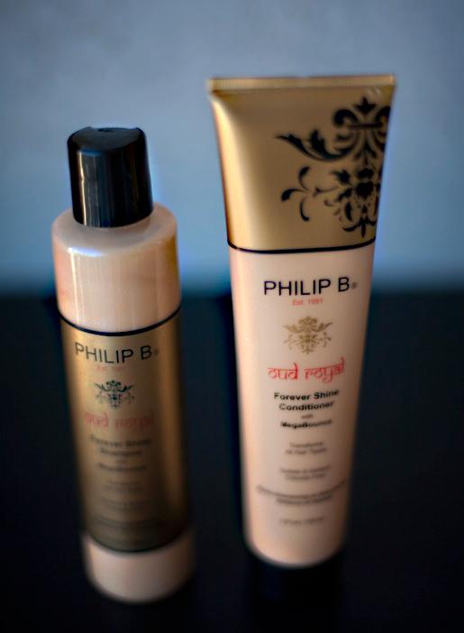 Philip B:s sulfatfria schampo med oud i