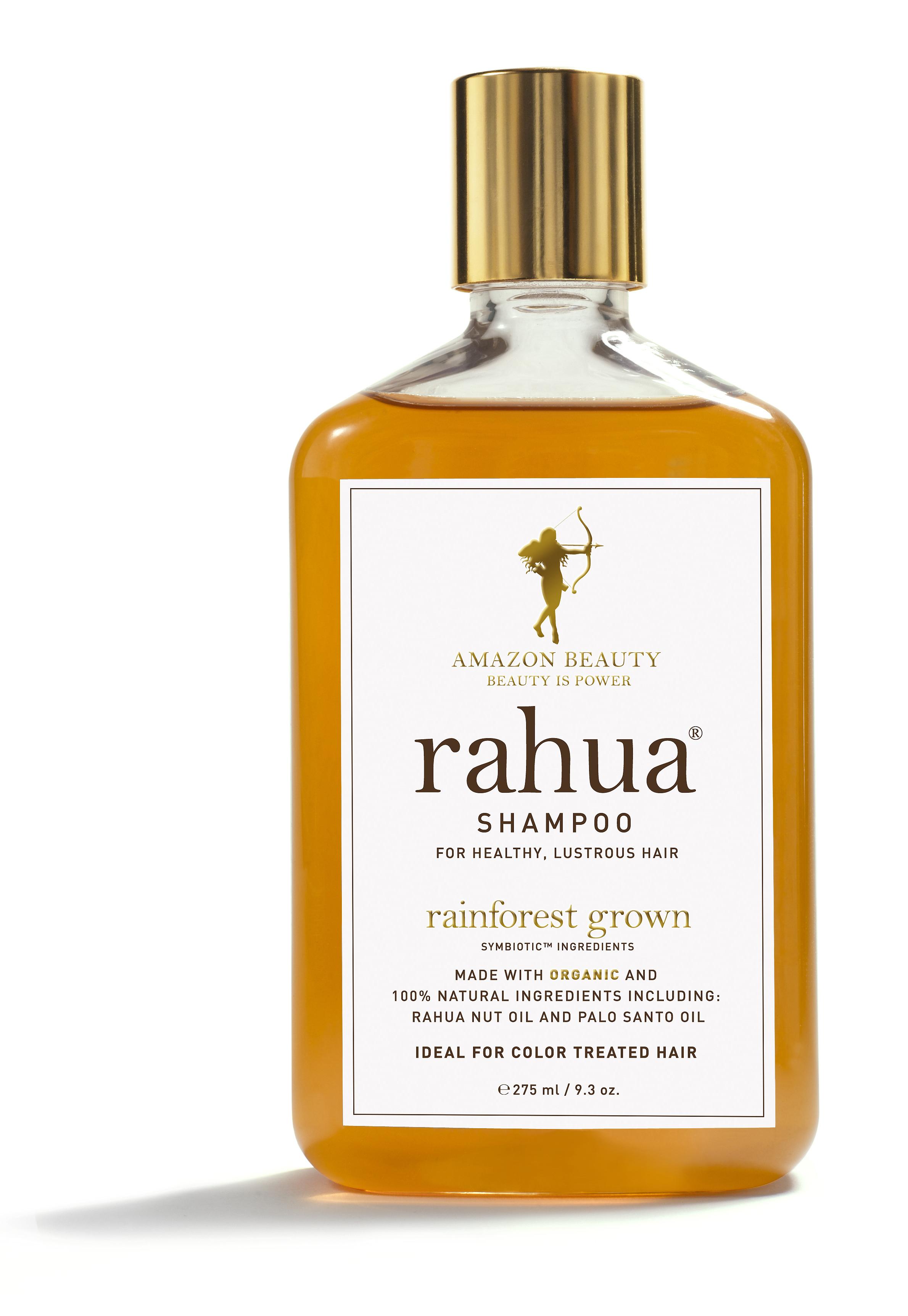 RAHUA-oljans minimala molekyler penetrar på djupet och reparerar hårstråna