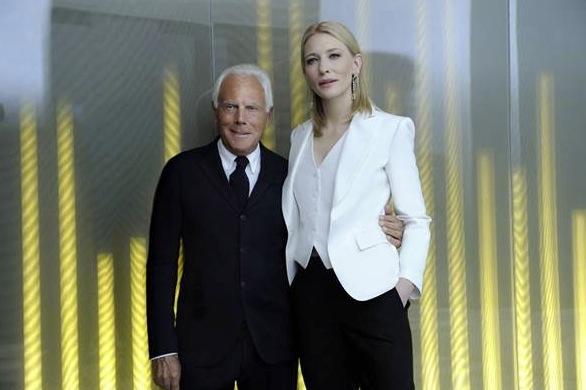 Cate Blanchet frontar Armanis nya parfym Sí som släpps i juni