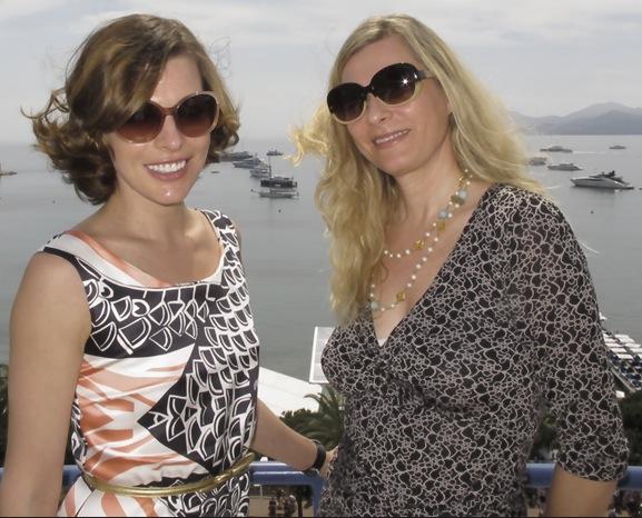 Milla Jovovich och Agneta Elmegård