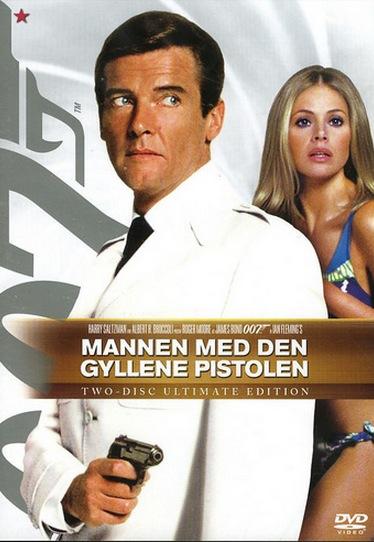 """Roger Moore och Britt Ekland i """"Mannen med den gyllenne pistolen"""""""