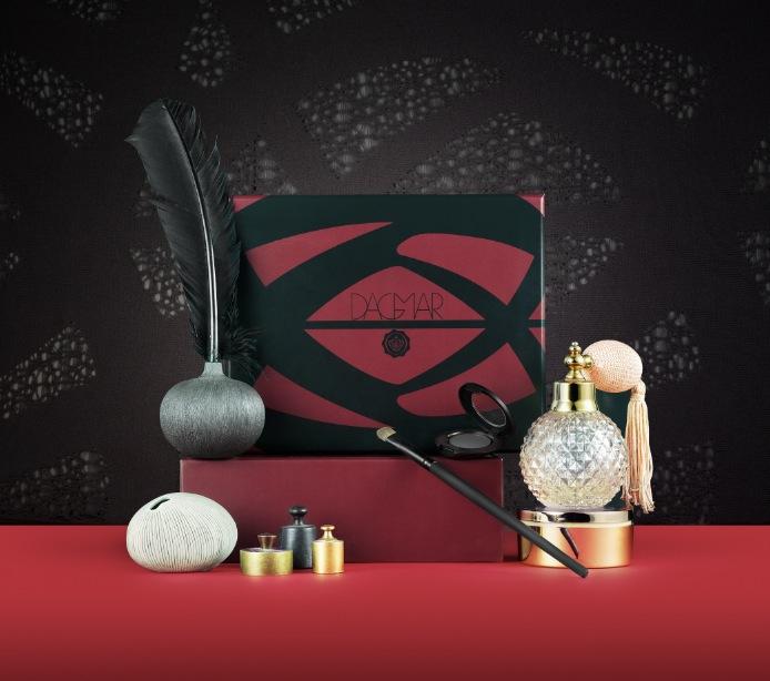 House of Dagmar har formgivit  novemberprenumerationen av Glossybox.