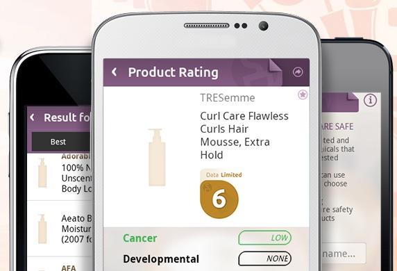 """Kolla vad dina hudvårdsprodukter innehåller med en ny smart app """"Skin Deep"""""""