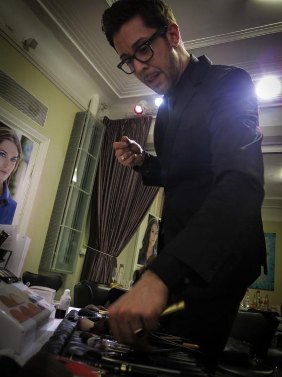 Karim Sattar älskar sina borstar!